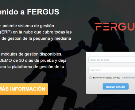 Portada Fergus Cloud ERP
